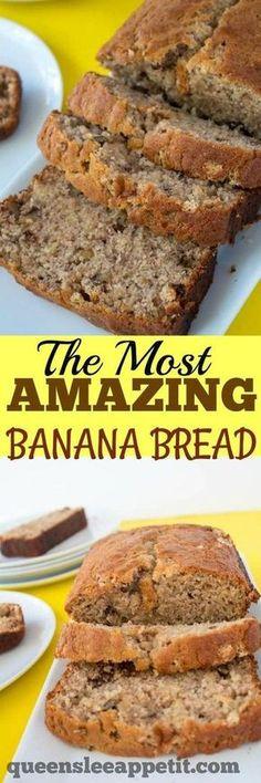 Chocolate chip banana bread recipe banana bread recipes bread the most amazing banana bread forumfinder Choice Image