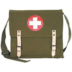 Amazon.com : Fox Outdoor Products German Medic Bag, Olive Drab : Touch Screen Tablet Computer Accessories : Sports & Outdoors