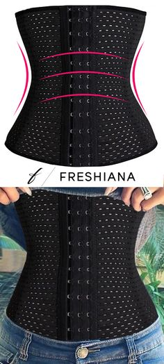 Say Hello To Our Most Popular Steel Boned Waist Training Corset. It's Only $17.95 with Free U.S. Shipping! Don't forget to use code PIN20 to save an extra 20% off!