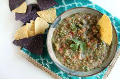 Pin for Later: This Easy Salsa Recipe Will Be a Hit at Your Next Game Day Get Together