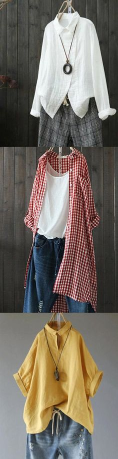 Sewing Projects For Women Tops Autumn 40 Ideas For 2019 50 Fashion, Unique Fashion, Fashion Outfits, Sewing Clothes Women, Clothes For Women, Overalls Women, Rompers Women, Scarf Styles, Couture