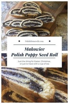 polish christmas cookies Weihnachtspltzchen Polish Poppy Seed Roll - Makowiec, the perfect pastry for Easter, Christmas, or just a cup of tea! Easter Recipes, Appetizer Recipes, Dessert Recipes, Breakfast Recipes, Appetizers, Poppy Seed Filling, Poppy Seed Bread, Poppy Seed Cake, Polish Christmas