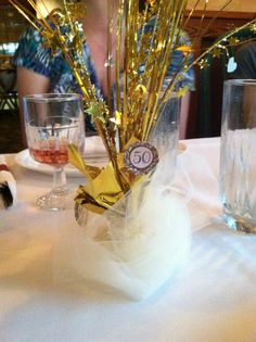 """50th Wedding Anniversary Table Ideas 