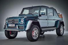 Mercedes-Maybach G 650. V12, dos turbos, 630 CV y 1.000 Nm de par. Casi nada.
