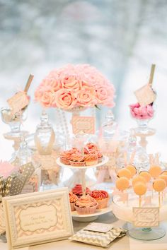 The cutest #candy buffet for entertaining! #entertain