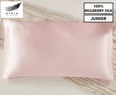 Gioia Casa Two-Sided 100% Mulberry Silk Junior Pillowcase - Pink Luxury Escapes, Protective Hairstyles, Mulberry Silk, Bad Hair, Pillow Cases, Pink, Baby, Stuff To Buy, Baby Humor