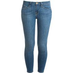 FRAME DENIM Skinny De Jeans ($283) ❤ liked on Polyvore featuring jeans, pants, bottoms, 5 pocket jeans, skinny fit denim jeans, frame denim jeans, skinny fit jeans и denim jeans