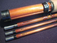 Jenkins vintage bamboo rod Bamboo Fly Rod, Fly Rods, Fly Fishing, Hunting, Building, Vintage, Buildings, Fly Tying, Vintage Comics