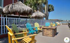 Soak in the views, sun & roast some marshmallows at Legacy Vacation Resorts Indian Shores #indianshores #florida #views #gulfcoast #relaxing
