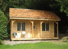 16x20 Vermont Cottage A. Example shows optional red cedar shake shingle roofing. Kits - 2 people 40 hours. Also available as Plans. Kits ship *Free in the continental US + eastern Canada. http://jamaicacottageshop.com/shop/vermont-cottage-a/ http://jamaicacottageshop.com/wp-content/uploads/pdfs/pdf16x20vtr_a.pdf http://jamaicacottageshop.com/free-shipping/ #jamaicacottageshop #cottages #cottagekits #getaways