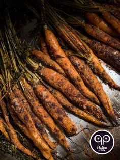 Whole Roasted Carrots with Cinnamon