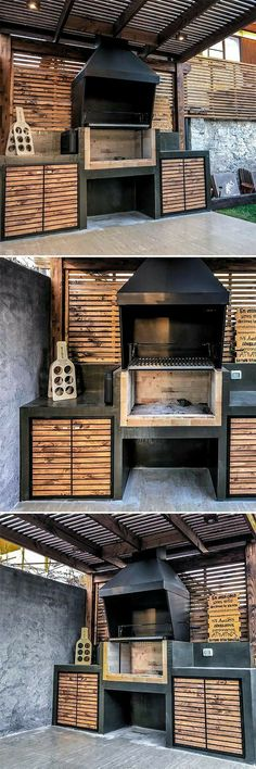 DecorHome Decor Project Ideas and Instructions .- DecorHome Decor Project Ideen und Anleitungen … , DecorHome Decor Project Ideas and Instructions …, # - Backyard Kitchen, Outdoor Kitchen Design, Kitchen Modern, Kitchen Grill, Kitchen Decor, Dirty Kitchen, Kitchen Ideas, Parrilla Exterior, Patio Makeover