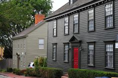 A view of restored NRF properties in Newport, RI
