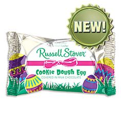 Russell Stover Cookie Dough Egg - bet they're amazing. I love RS's pecan pie candy & their wedding cake candy.