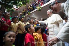 Francisco en Filipinas: Un pueblo cristiano, qué espectáculo