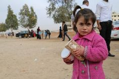 World rallying to feed Syrian war refugees