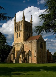 Pershore Abbey, Worcestershire