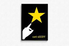 Woody Allen CAFÉ SOCIETY movie poster