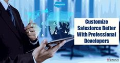 Require development assistance for Salesforce? Look no further. Hire certified Salesforce Developers at Damco and develop/customize CRM specific to your business needs. Salesforce Developer, Business, Store, Business Illustration