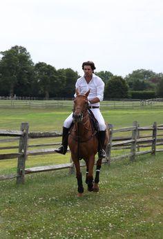 Nacho Figueras & his horse too