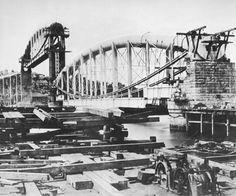 Construcción del Royal Albert bridge