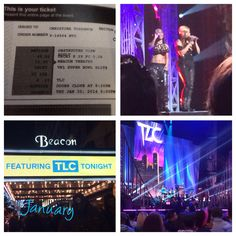 Went to see TLC for the Super Bowl blitz concert series. Was a great way to get the month of January and it brought back so many memories!