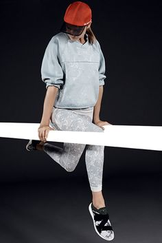 See the complete Adidas by Stella McCartney Spring 2015 Ready-to-Wear collection.
