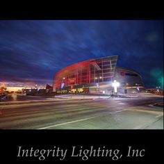 Lighting Install for @bokcenter last year. #BOKcenter #Tulsa #Oklahoma #TulsaEventLighting #IntegrityLighting #LightingTulsa