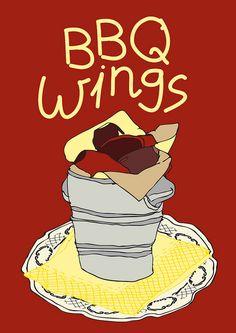 BBQ Wings!