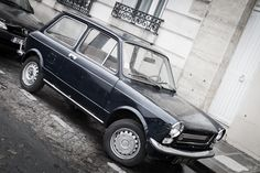 Autobianchi A112 on the street of Paris, France