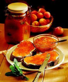 Meruňkový džem s mátou