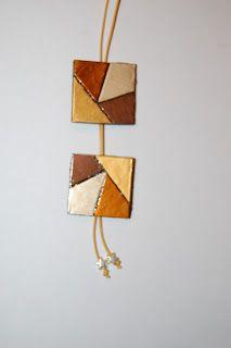 Fran Cantó Coffee Pods, Capsule, Jewlery, Polymer Clay, Diy, Drop Earrings, Leather, Coffee Break, Crafts