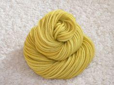 Hand Dyed yarn Bulky Weight 100 Superwash by mustardseedyarnlab, $15.00