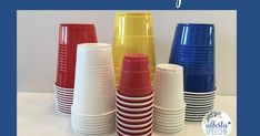 Cups are a fun tool to incorporate into your speech and language therapy.  They are inexpensive, I buy mine at the dollar store, and easy t...