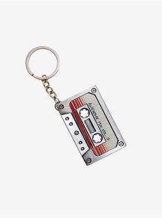 Marvel Guardians Of The Galaxy Vol. 2 Mix Tape Metal Key Chain,