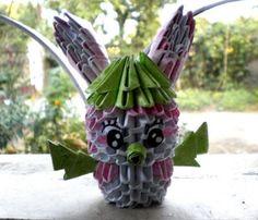 3D Origami Rabbit - Destiny's Child