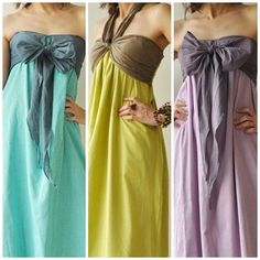 Feel So Good Blue Halter Maxi Cotton dress 2 by aftershowershop, $46.50