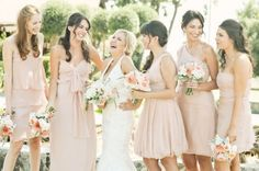 "I'm not a huge fan of pink, but I am really starting to adore ""blush"" for my ""someday"" wedding colors ... so romantic!"
