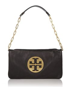 Just got this Tory Burch leather clutch : )