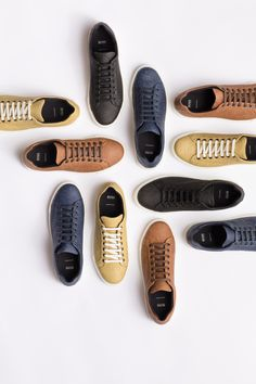 428fc8d9423 Hugo Boss designs vegan shoes that replace leather with pineapple-based  material. Pánská Móda