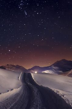 """ Road to the Stars by (Niclas Wüstenbecker) """