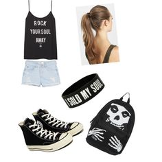 Untitled #65 by jazzyboo-395 on Polyvore featuring polyvore, fashion, style, MANGO, Converse and France Luxe