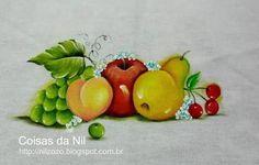 riscos de maçãs para pintura em tecido - Pesquisa Google
