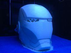 アイアンマン 中空ヘッド  3Dプリンターで出力! Iron Man, Japan, Iron Men, Japanese