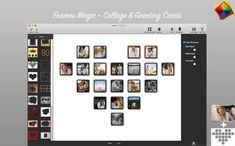 A la hora de compartir recuerdos tenemos dos opciones: compartir imágenes sin ningún tipo de orden ni sentido o bien... Collages, Mac App Store, Photo Wall, Greeting Cards, Frame, Texts, Create, Text Types, Souvenirs