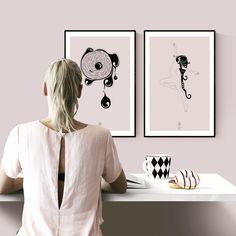 Ny designer hos www.KortOgPlakat.dk. Velkommen, SABBIE! 😊🍓