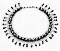 Free pattern for beaded necklace Viva | Beads Magic