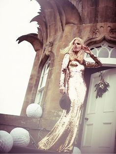 Gold and white: seven different looks - in pictures | Fashion | The Guardian