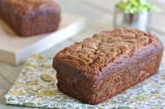 Dairy-Free, Wheat-Free Zucchini Bread from Against All Grain