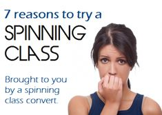 7 Reasons to Give Spinning Class a Try!  #fitness #exercise #spin